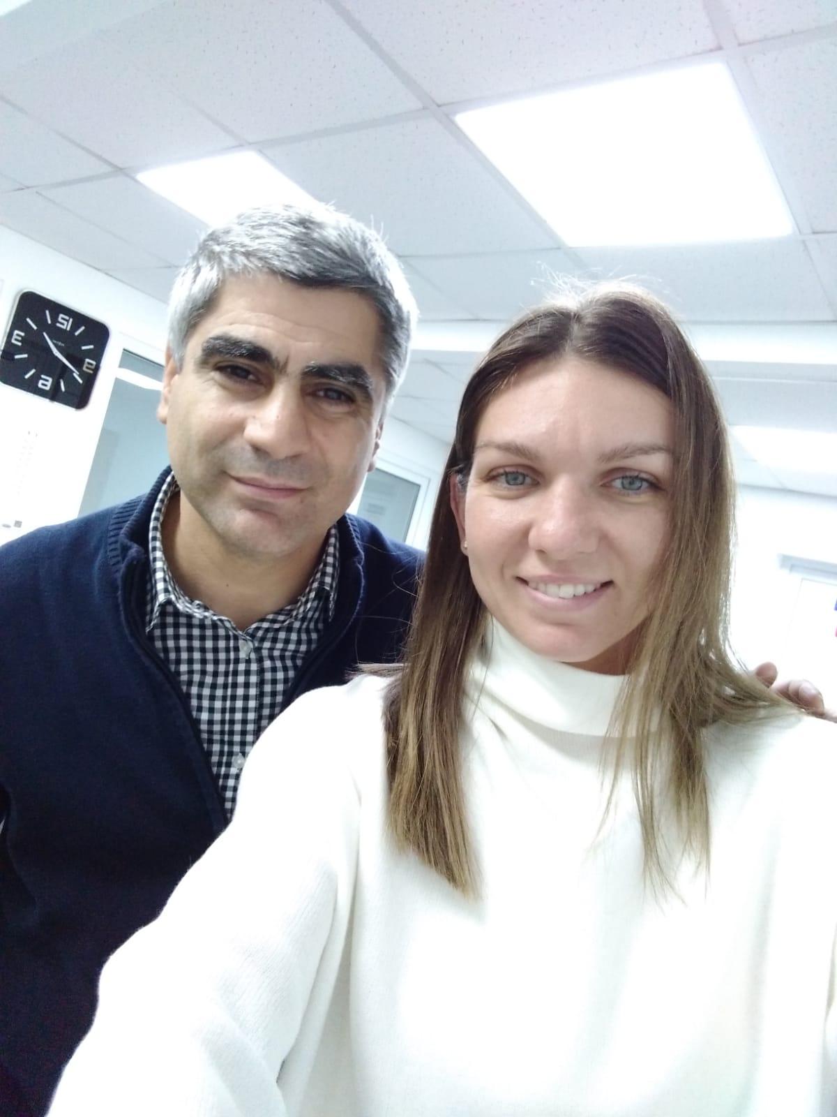 Simona Halep in sferturi la A.O!